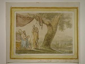 Janus et Saturne. Aus: Mes lecons de Mythologie composees et dessinees en aprenant L'Histoire ...
