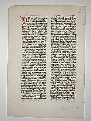Biblia, deutsch (8. deutsche Bibel). (GW 4302,