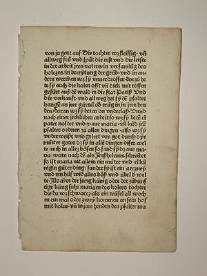Von dem Psalter und Rosenkranz unserer lieben: Alanus de Rupe: