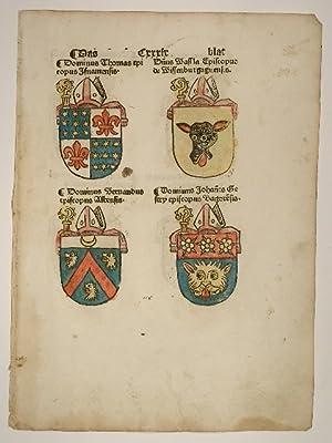Concilium zu Costencz (Konzil von Konstanz, Council: Ulrich von Richenthal: