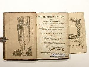 Biographische Notizen über Napoleon Bonaparte nach dem: Friedr. Rittmann: