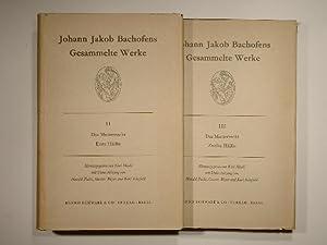 Johann Jakob Bachofens gesammelte Werke. Das Mutterrecht: Karl Meuli (Hrsg.);