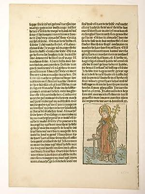 Legenda aurea sanctorum, niederländisch. Winterstück des Passionael: Jacobus de Voragine: