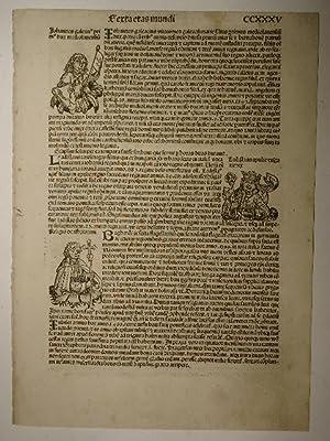 Liber chronicarum, Folium CCXXXV. (Holzschnitte von Michael: Hartmann Schedel: