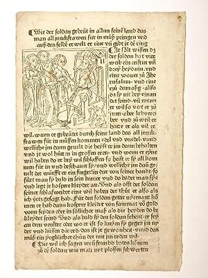 Itinerarium, deutsch (GWM 20408, H 10647).: Johannes de Mandeville: