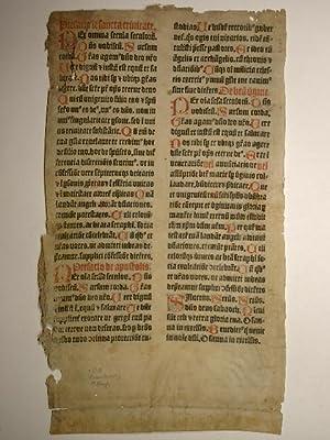 Incipit liber Missalis s(ecundu)m ordine(m) sive breviariu(m)