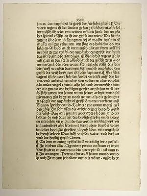Epistulae et Evangelia (Plenarium, deutsch). ( GWM34102).