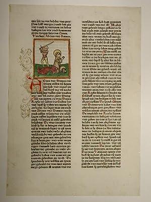 Legenda aurea, deutsch (GWM 11402, HC 9968): Jacobus de Voragine:
