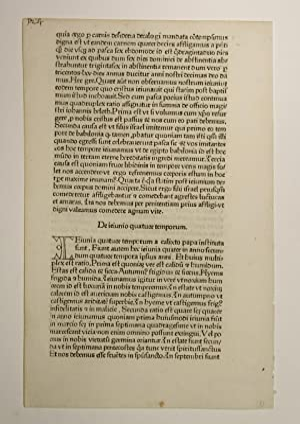 Legenda aurea (GWM 11168, C 6387), Blatt: Jacobus de Voragine: