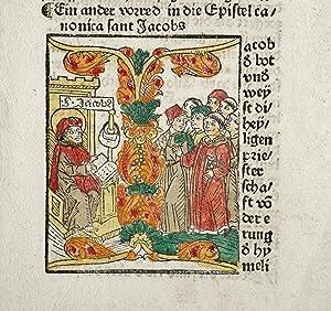 Biblia, deutsch. (8. deutsche Bibel). (GW 4302,