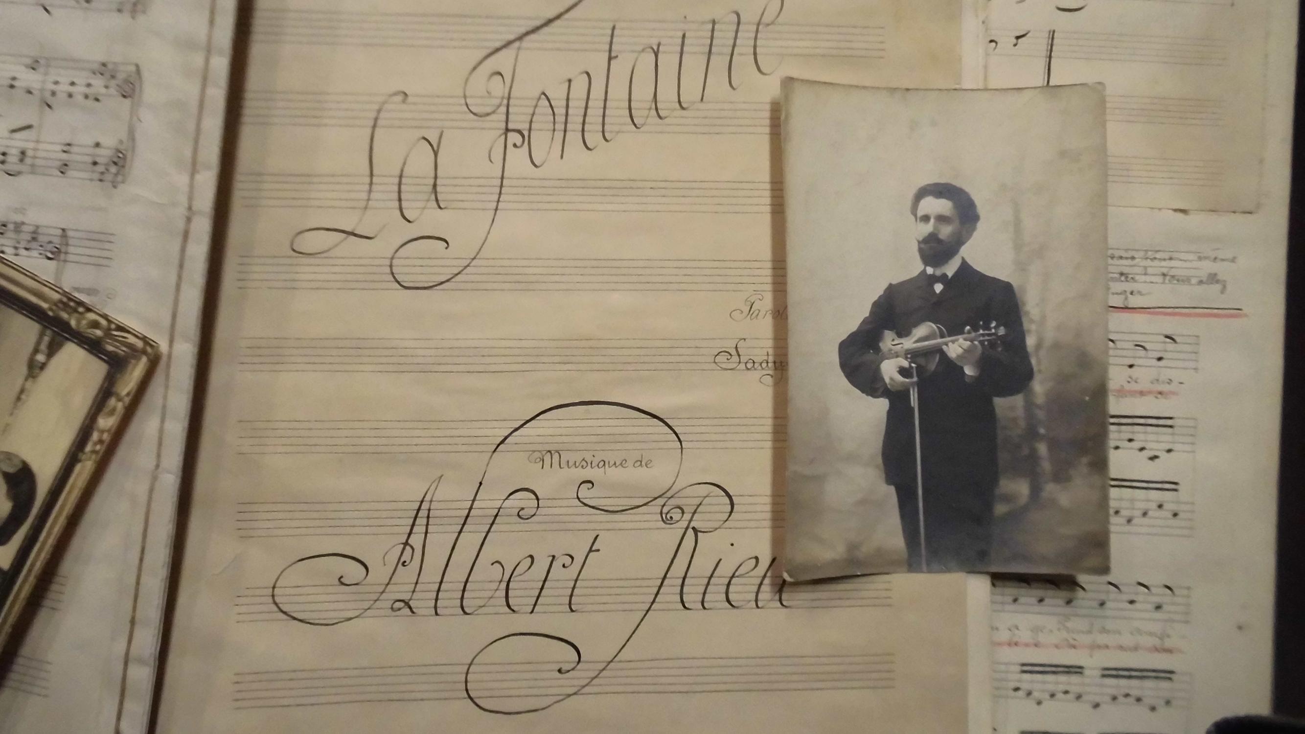 Ensemble_de_manuscrits_de_musique_dAlbert_Rieu_Albert_RIEU_Assez_bon