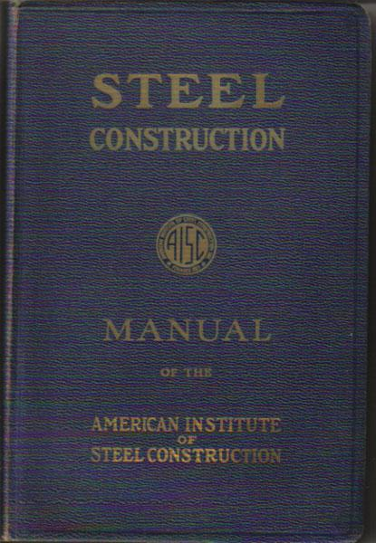 steel construction a manual for architects engineers and rh abebooks com Steel Construction Manual Cover Steel Construction Manual Online
