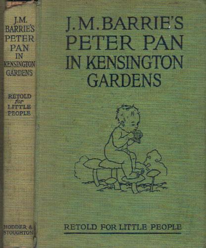 Peter Pan in Kensington Gardens by Arthur Rackham - AbeBooks