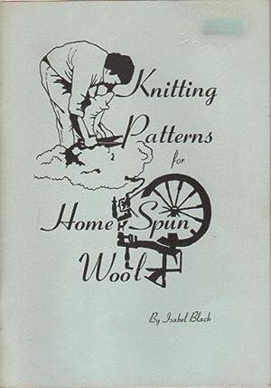 KNITTING PATTERNS FOR HOME SPUN WOOL: Isabel Black