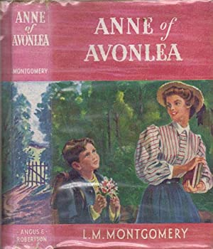 anne of avonlea montgomery l m conly jane leslie