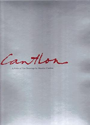 CANTLON. A FOLIO OF 10 DRAWINGS BY: Brian Robinson. Compiler.