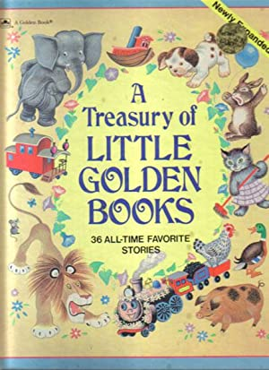 A TREASURY OF LITTLE GOLDEN BOOKS: Selected By Ellen
