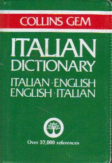 COLLINS GEM ITALIAN DICTIONARY.