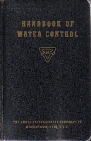 HANDBOOK OF WATER CONTROL