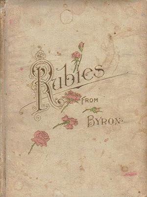 RUBIES FROM BYRON: Byron.