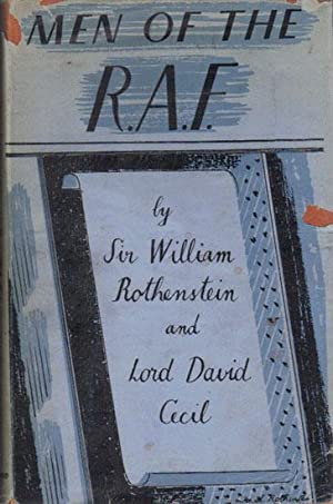 MEN OF THE R.A.F.: Sir William Rothenstein and Lord David Cecil.