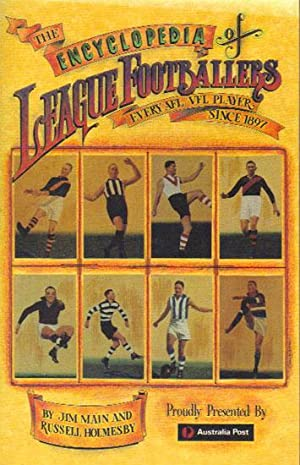 THE ENCYCLOPEDIA OF LEAGUE FOOTBALLERS. Every A.F.L.: Jim Main &