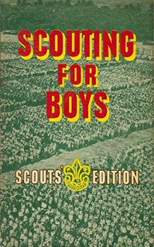 SCOUTING FOR BOYS: Robert Baden-powell