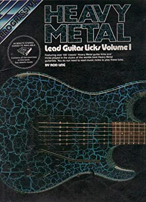 HEAVY METAL: Lead Guitar Licks Volume 1.: Rod Ling