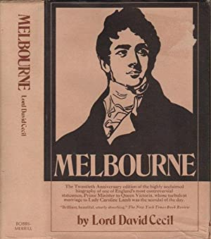 MELBOURNE: Lord David Cecil