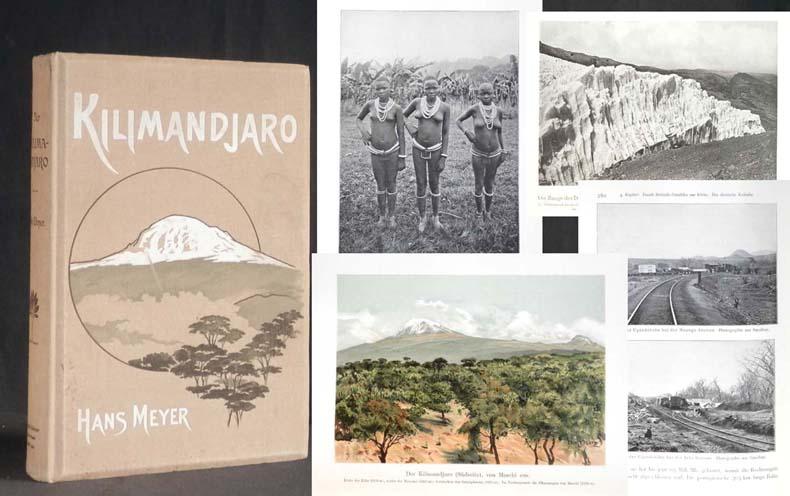 Der Kilimandjaro. Reisen und Studien.: MEYER, Dr. Hans;