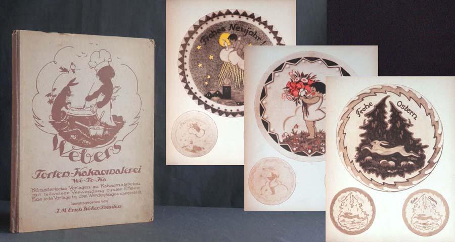 Torten-Kakaomalerei (We-To-Ka). Künstlerische Vorlagen zu ...