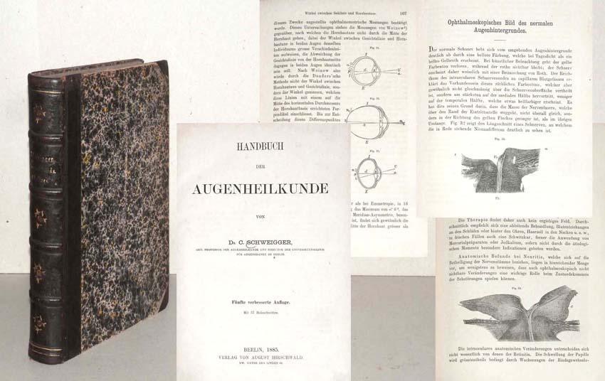 Handbuch der Augenheilkunde.: SCHWEIGGER, Dr. C.;
