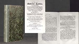 Joh. Christ. Eupel's illustrirter [illustrierter] Konditor [Conditor],: EUPEL, Joh. Christian;