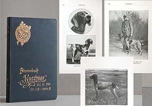 """18. Stammbuch """"Kurzhaar"""" (St. K.). Jahrgang 1914,: KLUB """"KURZHAAR"""" (Herausgeber);"""