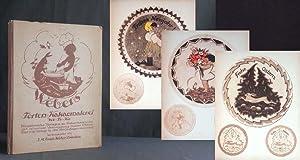 Torten-Kakaomalerei (We-To-Ka). Künstlerische Vorlagen zu Kakaomalereien mit: WEBER, J.M. Erich;