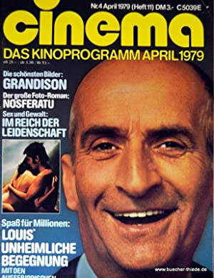 Cinema Nr 4 April 1979 Das Kinoprogramm