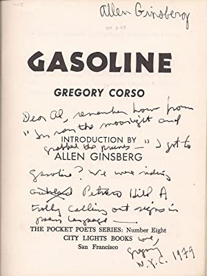 Gasoline [inscribed to Allen Ginsberg]