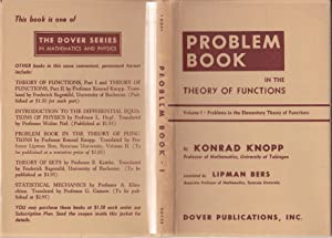 Problem Book in the Theory of Functions Volume I: Problems in the Elementary Theory of Functions
