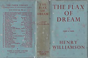 The Flax of Dream: A Novel in Four Books [association copy]
