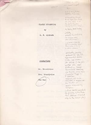[Script of six early Pinter sketches]