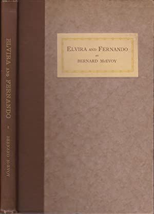 Elvira and Fernando and Other Selections [proper first inscribed]