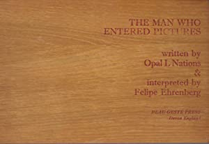 The Man Who Entered Pictures [one of 30 in wooden boards]