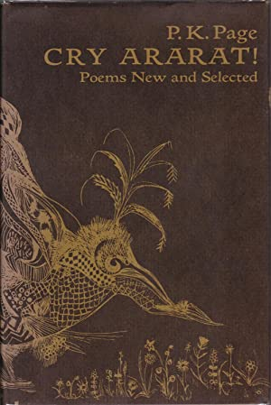 Cry Ararat: Poems New and Selected [inscribed with a.l.s.]