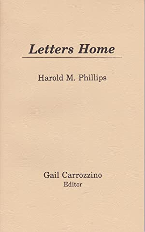 Letters Home [proof from an edition of 10 copies]