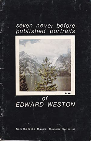 Seven Never Before Published Portraits of Edward Weston