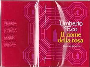 Il Nome della Rosa [inscribed]: Eco, Umberto