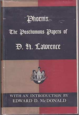 Phoenix: The Posthumous Papers of D.H. Lawrence