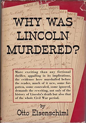 Why Was Lincoln Murdered? [Canadian review copy]