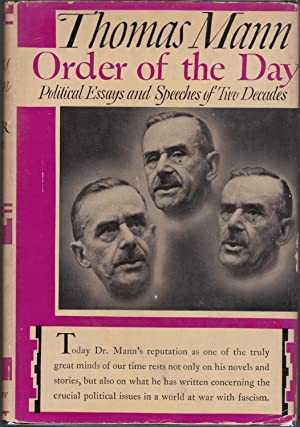 Order of the Day: Political Essays and Speeches of Two Decades