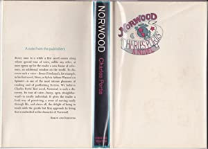 Norwood [with publisher's card about the book]